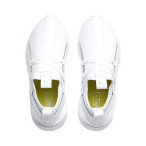 Thumbnail 7 of Muse 2 TZ Damen Sneaker, Puma White-Puma Silver, medium