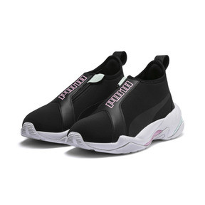 Thumbnail 3 of Thunder Trailblazer Women's Sneakers, Puma Black-Pale Pink, medium