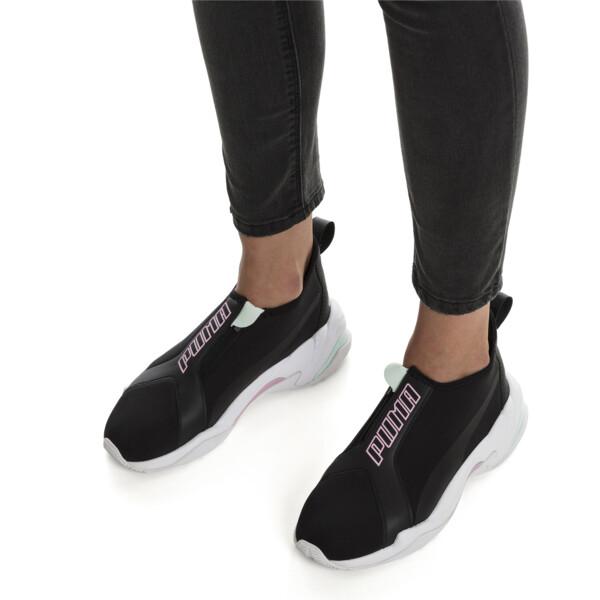 Thunder Trailblazer Women's Trainers, Puma Black-Pale Pink, large