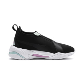 Thumbnail 6 of Basket Thunder TZ pour femme, Puma Black-Pale Pink, medium