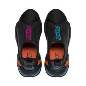 Thumbnail 6 of Thunder Trailblazer Tonal Women's Sneakers, Puma Black-Puma Black, medium