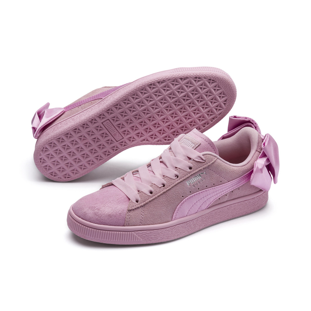 Image Puma Suede Bow Galaxy Women's Sneakers #2