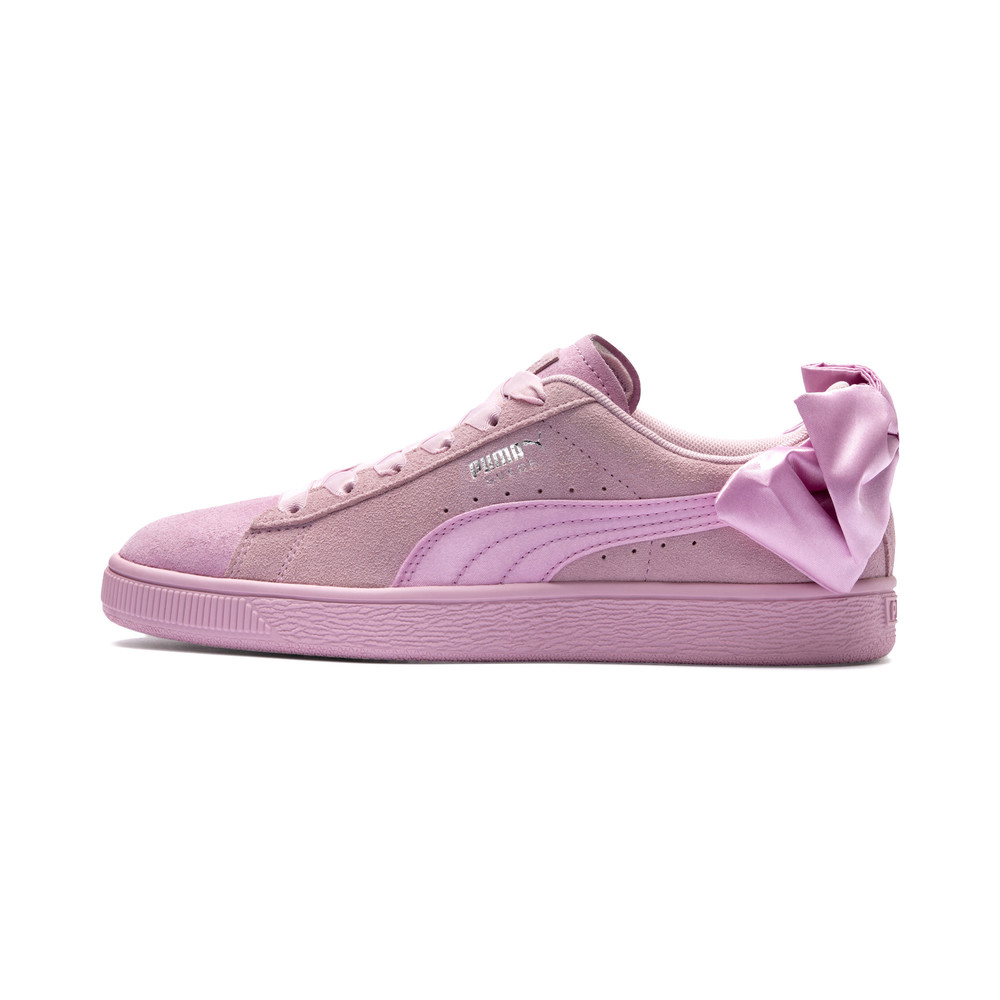 Image Puma Suede Bow Galaxy Women's Sneakers #1
