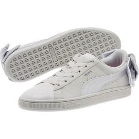 Thumbnail 2 of Suede Bow Galaxy Women's Sneakers, Gray Violet-Puma Silver, medium