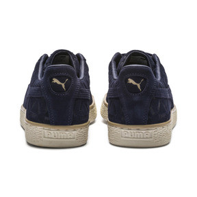 Thumbnail 3 of Suede Classic Lux Sneakers, Peacoat-Pebble-Whisper White, medium