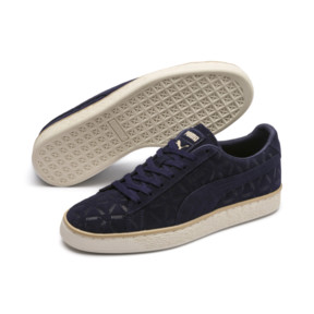 Thumbnail 2 of Suede Classic Lux Sneakers, Peacoat-Pebble-Whisper White, medium