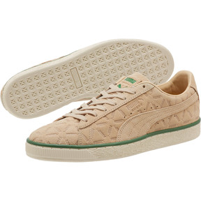 Thumbnail 2 of Suede Classic Lux Sneakers, Pebble-Amazon Green-Whisper, medium