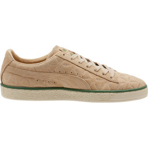 Thumbnail 3 of Suede Classic Lux Sneakers, Pebble-Amazon Green-Whisper, medium
