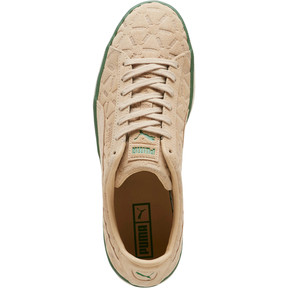 Thumbnail 5 of Suede Classic Lux Sneakers, Pebble-Amazon Green-Whisper, medium