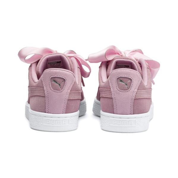 スウェード ハート ギャラクシー ウィメンズ, Pale Pink-Puma Silver, large-JPN