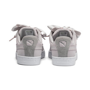 Thumbnail 4 of Suede Heart Galaxy Women's Shoes, Gray Violet-Puma Silver, medium