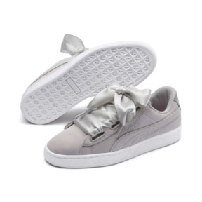 Thumbnail 3 of Suede Heart Galaxy Women's Sneakers, Gray Violet-Puma Silver, medium