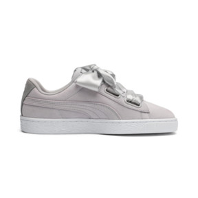 Thumbnail 6 of Suede Heart Galaxy Women's Shoes, Gray Violet-Puma Silver, medium