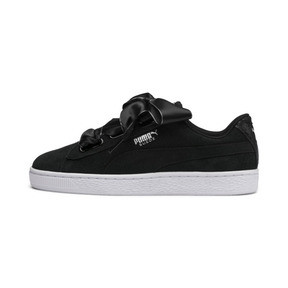 Thumbnail 1 of Suede Heart Galaxy Women's Shoes, Puma Black-Puma Silver, medium