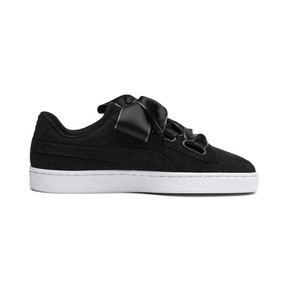 Thumbnail 6 of Suede Heart Galaxy Women's Shoes, Puma Black-Puma Silver, medium