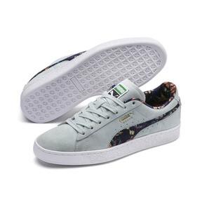 Thumbnail 3 of Suede Garden Sneakers, Light Sky-Puma White, medium