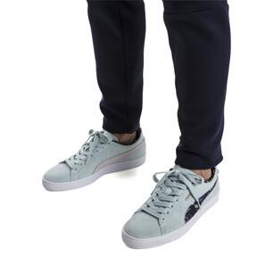 Thumbnail 2 of Suede Garden Sneakers, Light Sky-Puma White, medium