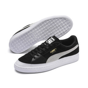 Thumbnail 2 of Suede Skate Sneakers, Puma Black-Puma White, medium