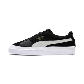 Thumbnail 1 of Suede Skate Sneakers, Puma Black-Puma White, medium