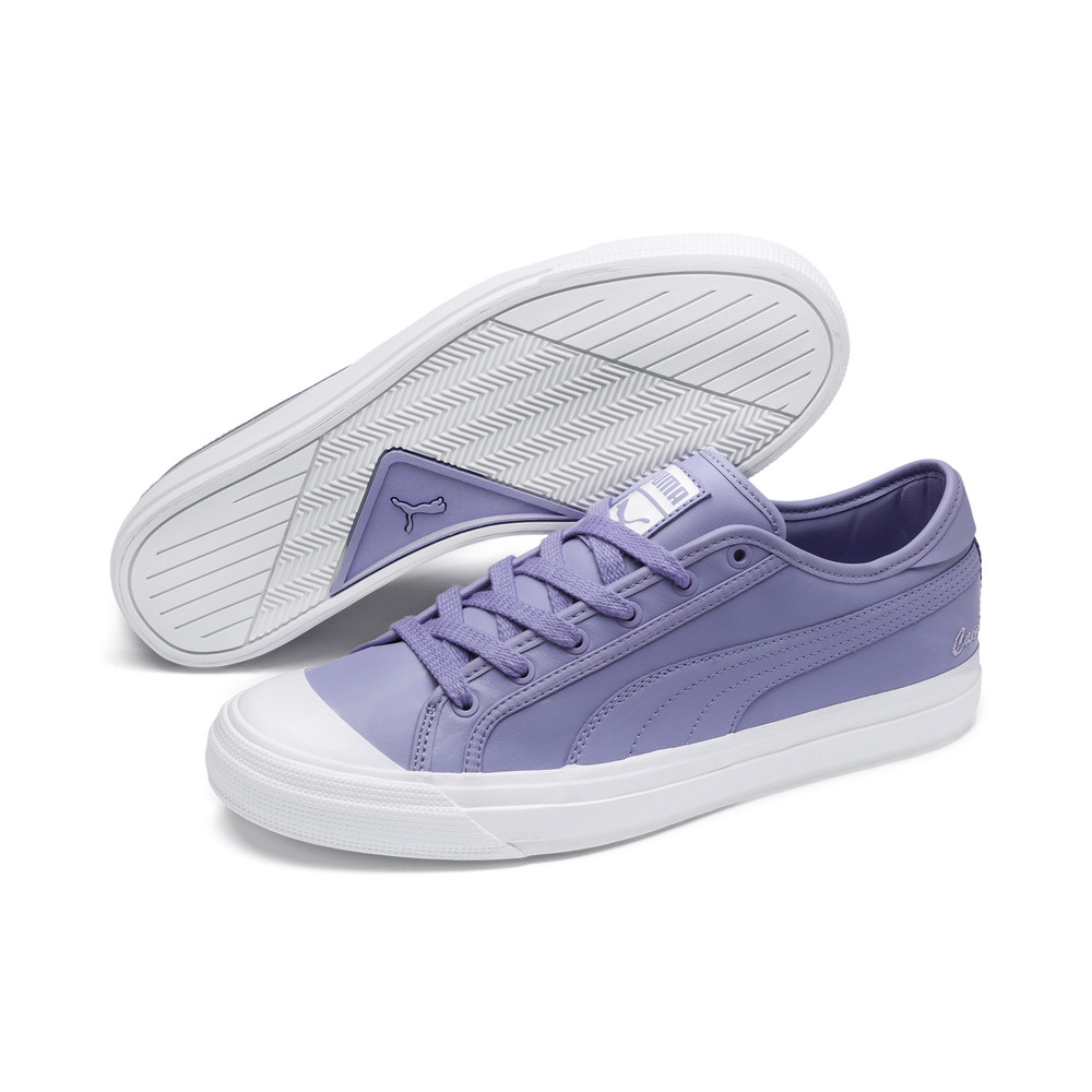 Image Puma Capri Leather Sneakers #1