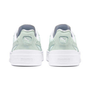 Thumbnail 4 of Cali-0 Palm Springs Trainers, Fair Aqua-PumaWhite-Puma Wht, medium