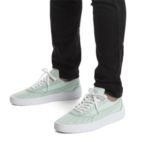 Thumbnail 2 of Cali-0 Palm Springs Trainers, Fair Aqua-PumaWhite-Puma Wht, medium