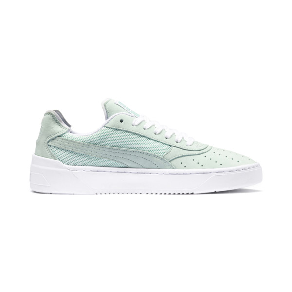 Cali-0 Palm Springs Trainers, Fair Aqua-PumaWhite-Puma Wht, large