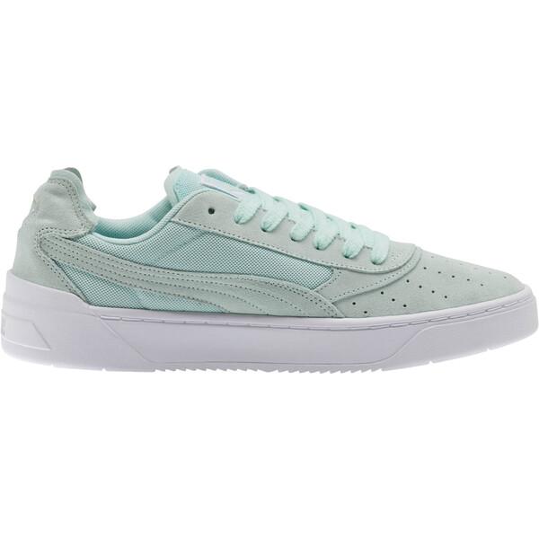 Cali-0 Summer Sneakers, Fair Aqua-Puma Wht-Puma Wht, large