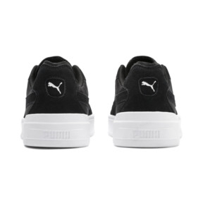 Thumbnail 4 of Cali-0 Summer Trainers, Puma Black-Puma Wht-Puma Wht, medium