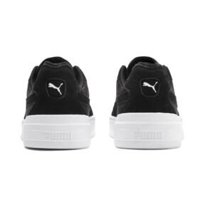 Thumbnail 4 of Cali-0 Summer Sneaker, Puma Black-Puma Wht-Puma Wht, medium