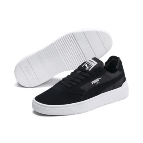 Thumbnail 3 of Cali-0 Summer Trainers, Puma Black-Puma Wht-Puma Wht, medium