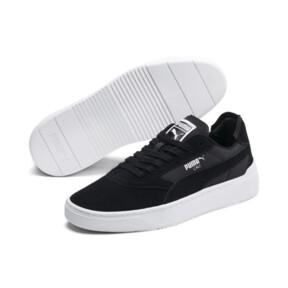 Thumbnail 3 of Cali-0 Summer Sneaker, Puma Black-Puma Wht-Puma Wht, medium