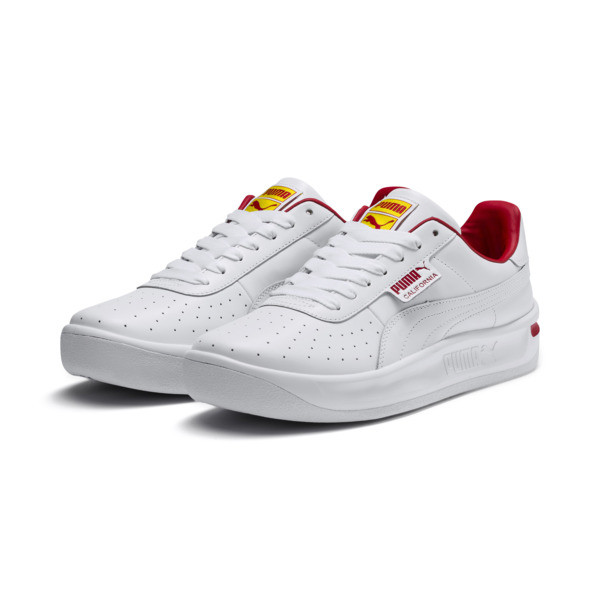 California Drive Thru Shoes, P Wht-HighRiskRed-Blazg Yelw, large