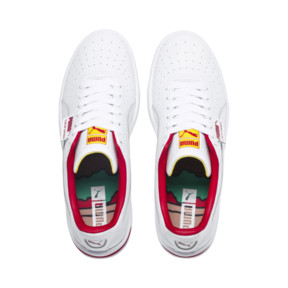 Thumbnail 7 of California Drive Thru Shoes, P Wht-HighRiskRed-Blazg Yelw, medium
