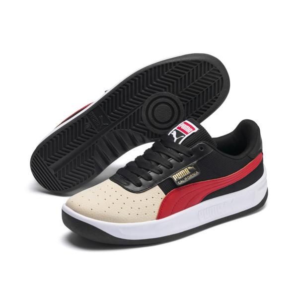 California Sneakers, SumerMelon-P Blk-HighRiskRed, large