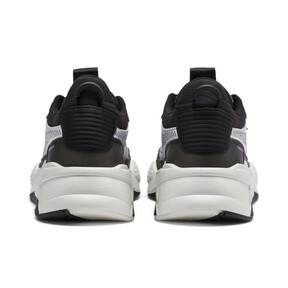 Thumbnail 4 of RS-X Tech Sneakers, Puma Black-Vaporous Gray, medium