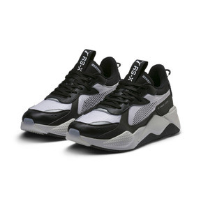 Thumbnail 3 of RS-X TECH Sneakers, Puma Black-Vaporous Gray, medium