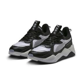 Thumbnail 3 of RS-X Tech Sneakers, Puma Black-Vaporous Gray, medium
