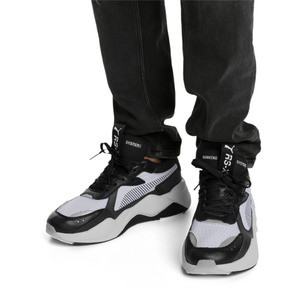 Thumbnail 2 of RS-X Tech Sneakers, Puma Black-Vaporous Gray, medium