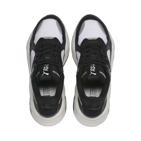 RS-X Tech Sneakers, Puma Black-Vaporous Gray, large