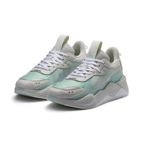 Thumbnail 2 of RS-X Tech Sneakers, Vaporous Gray-Fair Aqua, medium