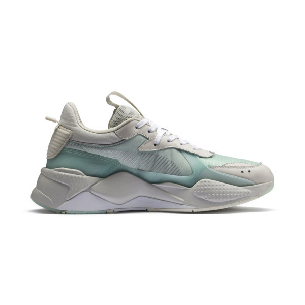 RS-X TECH sneakers, Vaporous Gray-Fair Aqua, large