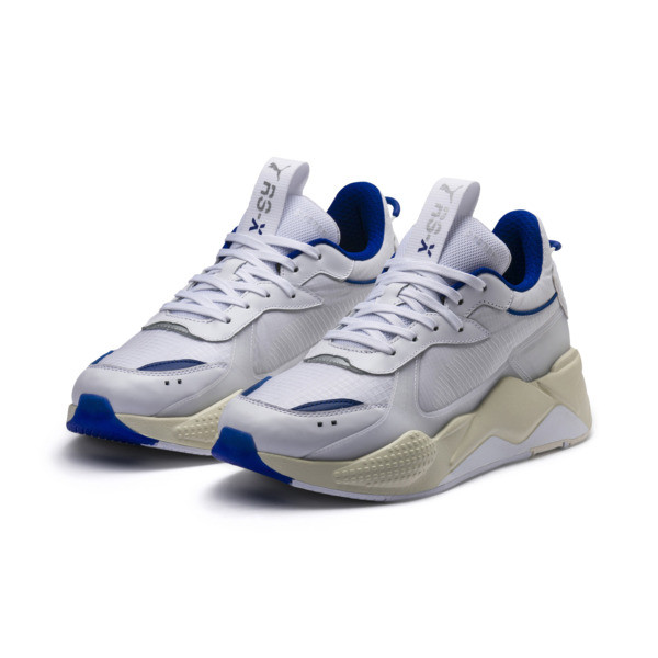 Basket RS-X Tech, Puma White-Whisper White, large
