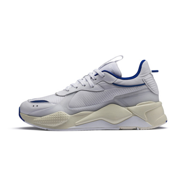 RS-X Tech Sneakers, Puma White-Whisper White, large