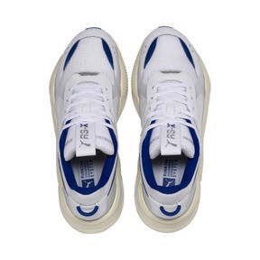 Thumbnail 7 of RS-X TECH Sneakers, Puma White-Whisper White, medium