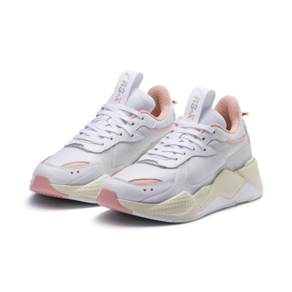 ad77aefa200455 RS-X TECH Sneakers | Puma White-Peach Bud | PUMA Sneakers | PUMA Italia