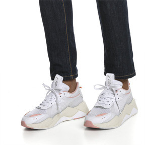 Thumbnail 2 of RS-X TECH Sneakers, Puma White-Peach Bud, medium