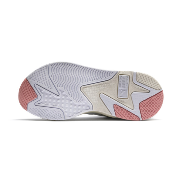 RS-X TECH Sneakers, Puma White-Peach Bud, large