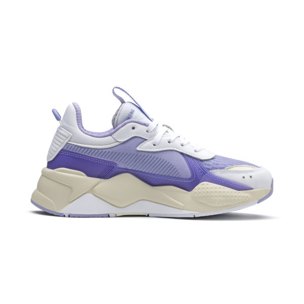 RS-X TECH Sneakers, Puma White-Sweet Lavender, large