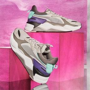 Thumbnail 9 of RS-X Tracks Sneaker, Gray Violet-Charcoal Gray, medium